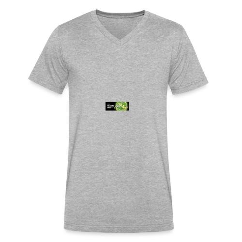 flippy - Men's V-Neck T-Shirt by Canvas