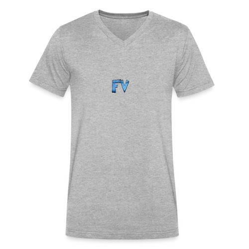 FV - Men's V-Neck T-Shirt by Canvas