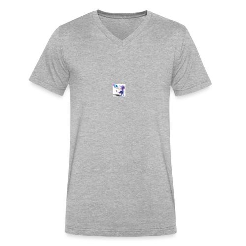 Spyro T-Shirt - Men's V-Neck T-Shirt by Canvas