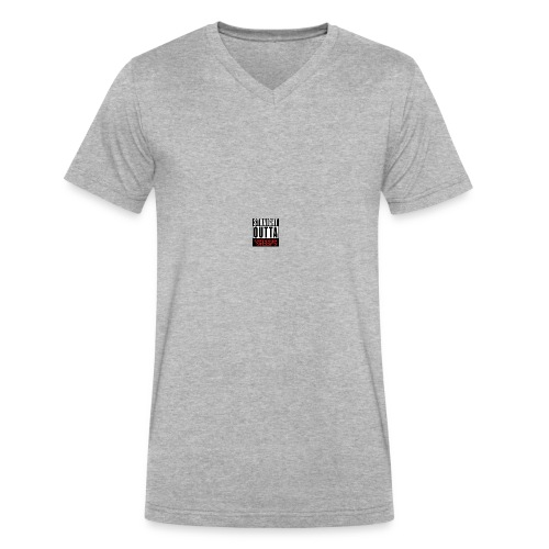 straight outta sheeps - Men's V-Neck T-Shirt by Canvas