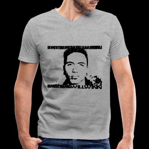 Mugshot - Men's V-Neck T-Shirt by Canvas
