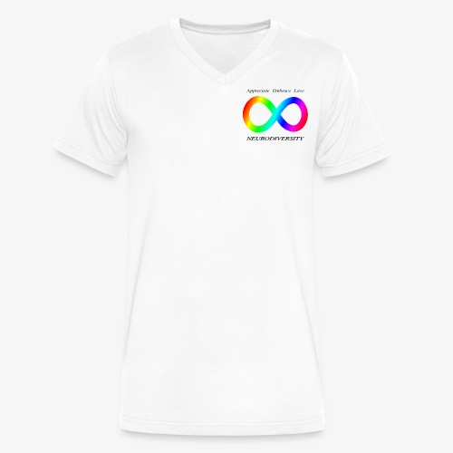 Embrace Neurodiversity - Men's V-Neck T-Shirt by Canvas