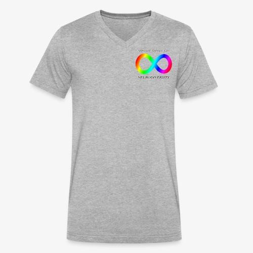 Embrace Neurodiversity - Men's V-Neck T-Shirt by Canvas
