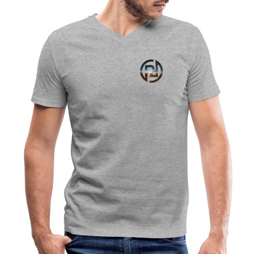 RF icon - Men's V-Neck T-Shirt by Canvas