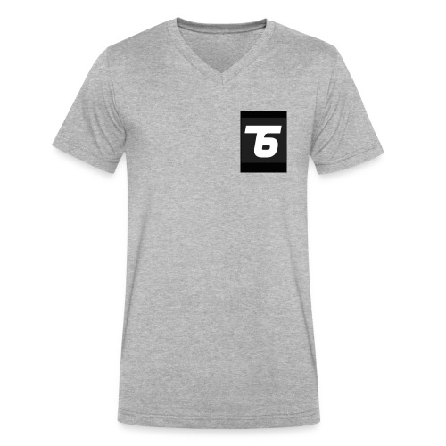 Team6 - Men's V-Neck T-Shirt by Canvas