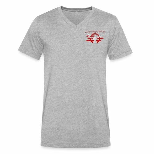 Thunderbird - Men's V-Neck T-Shirt by Canvas