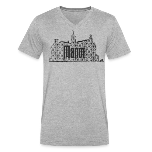Mind Your Manors - Men's V-Neck T-Shirt by Canvas