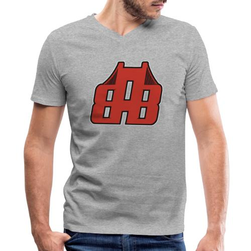 Bay Area Buggs Official Logo - Men's V-Neck T-Shirt by Canvas