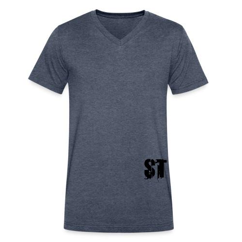 Simple Fresh Gear - Men's V-Neck T-Shirt by Canvas