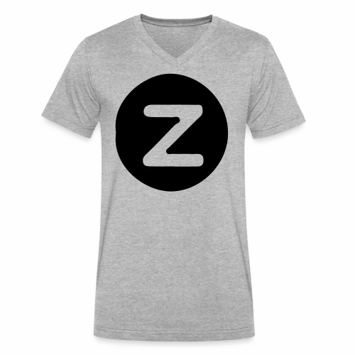 z logo - Men's V-Neck T-Shirt by Canvas