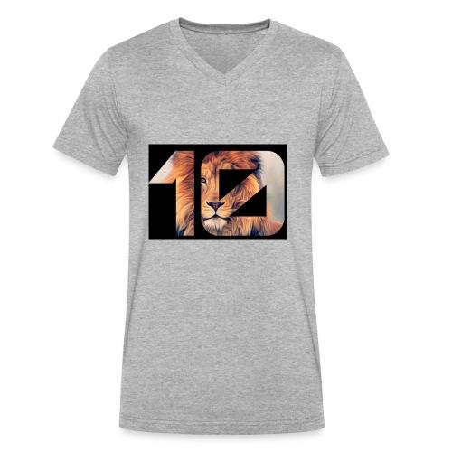 YRBN - Men's V-Neck T-Shirt by Canvas