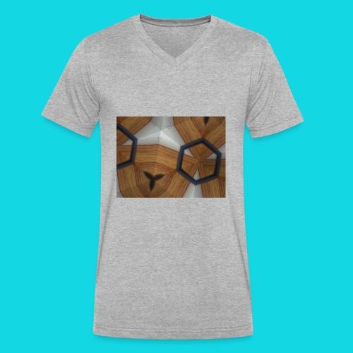 Kaleidoscope - Men's V-Neck T-Shirt by Canvas