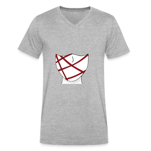 Logo - Men's V-Neck T-Shirt by Canvas