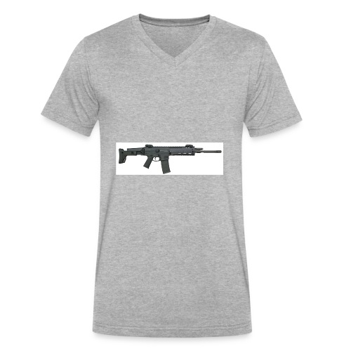 274DCA6D F340 4D0F 85CA FAC6F71A3998 - Men's V-Neck T-Shirt by Canvas