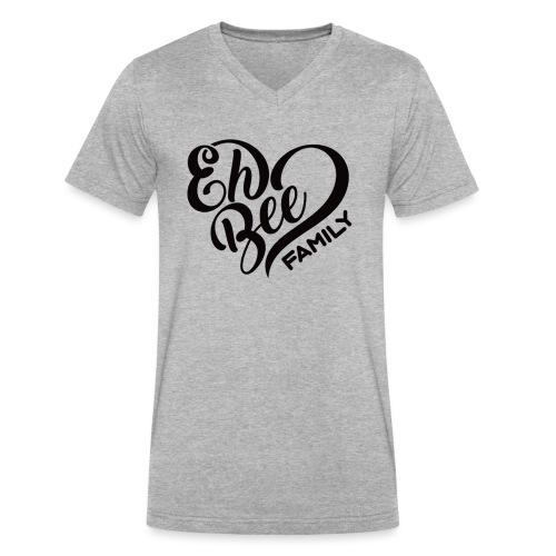 EhBeeBlackLRG - Men's V-Neck T-Shirt by Canvas