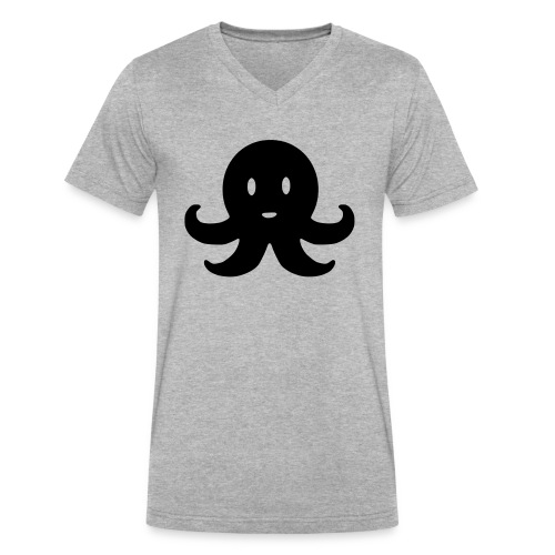 Cute Octopus - Men's V-Neck T-Shirt by Canvas