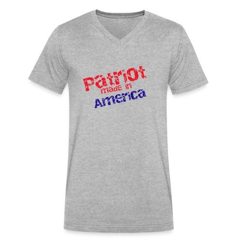 Patriot mug - Men's V-Neck T-Shirt by Canvas
