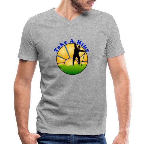 Take A Hike - Men's V-Neck T-Shirt by Canvas