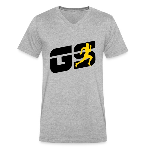 sleeve gs - Men's V-Neck T-Shirt by Canvas