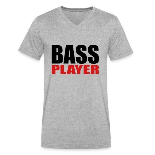 Bass Player - Men's V-Neck T-Shirt by Canvas