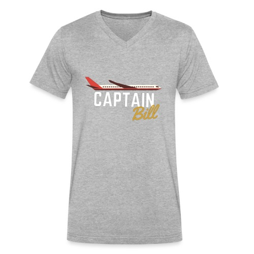 Captain Bill Avaition products - Men's V-Neck T-Shirt by Canvas