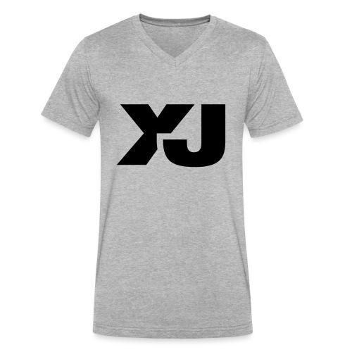Jeep Cherokee XJ - Men's V-Neck T-Shirt by Canvas