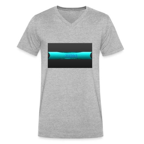pengo - Men's V-Neck T-Shirt by Canvas