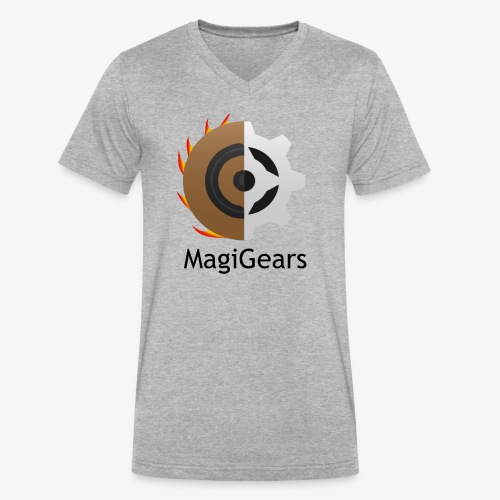 MagiGears - Men's V-Neck T-Shirt by Canvas