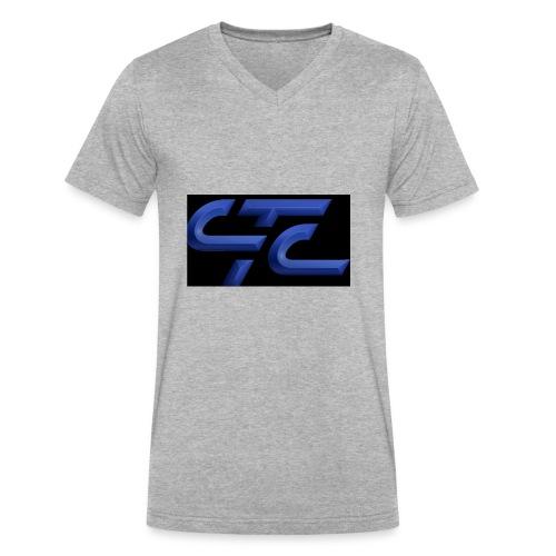 4CA47E3D 2855 4CA9 A4B9 569FE87CE8AF - Men's V-Neck T-Shirt by Canvas
