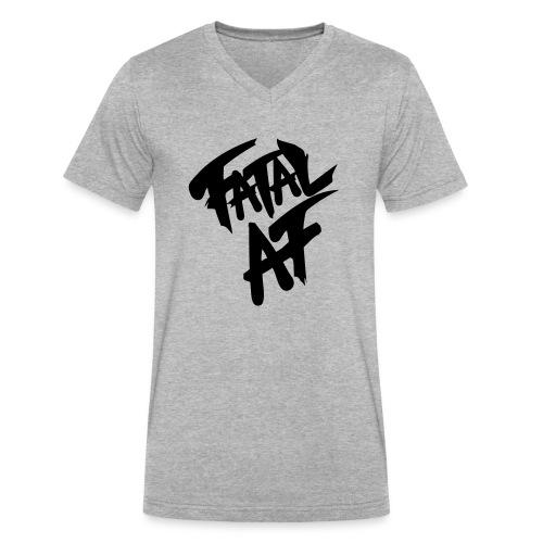 fatalaf - Men's V-Neck T-Shirt by Canvas