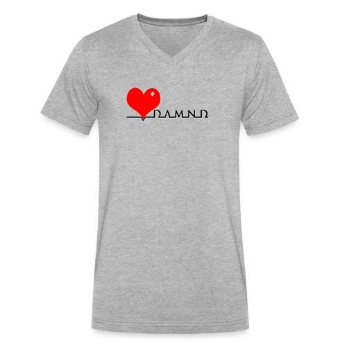 Damnd - Men's V-Neck T-Shirt by Canvas
