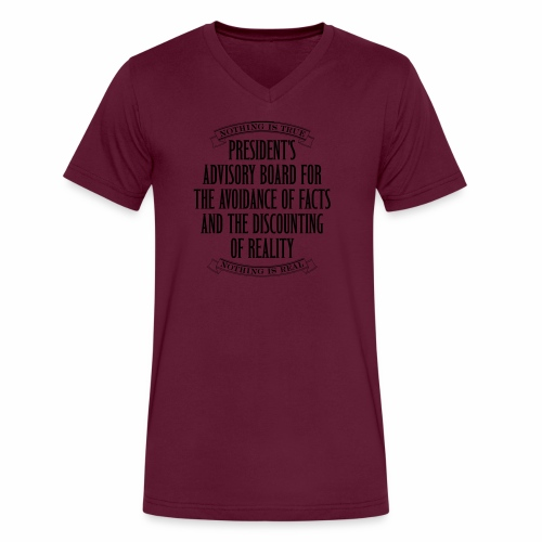 Nothing is True - Men's V-Neck T-Shirt by Canvas