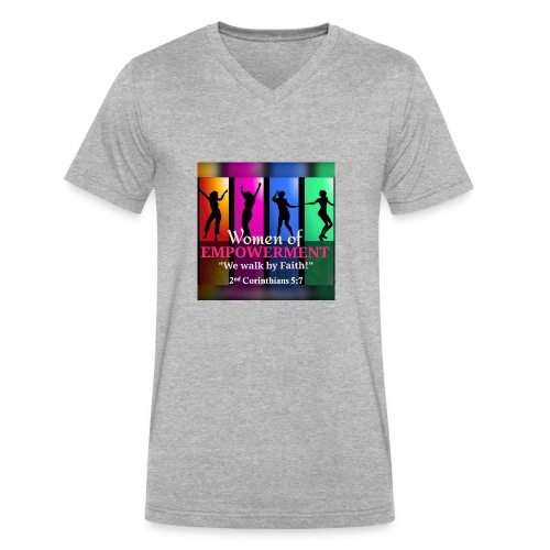 Woman Of Empowerment - Men's V-Neck T-Shirt by Canvas
