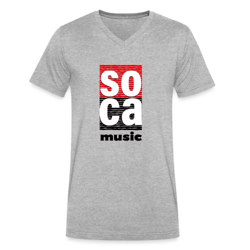 Soca music - Men's V-Neck T-Shirt by Canvas