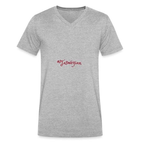 Taswegian Red - Men's V-Neck T-Shirt by Canvas