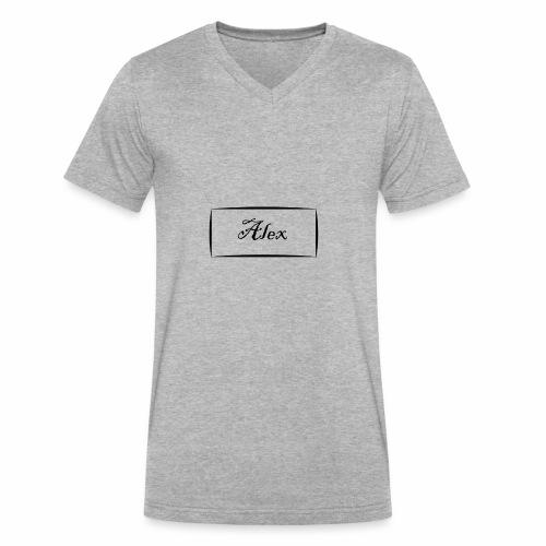 Alex - Men's V-Neck T-Shirt by Canvas