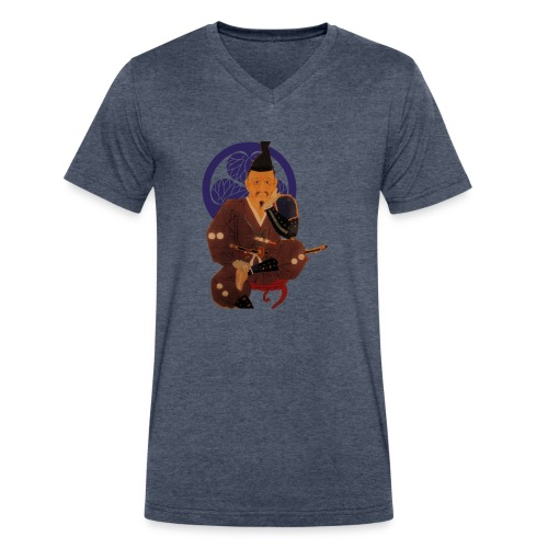 Ieyasu - Men's V-Neck T-Shirt by Canvas