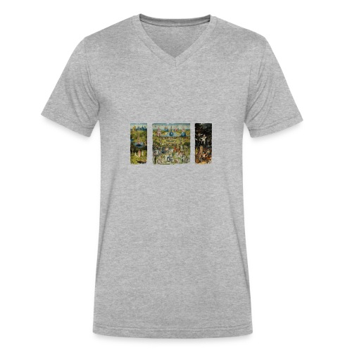 Garden Of Earthly Delights - Men's V-Neck T-Shirt by Canvas