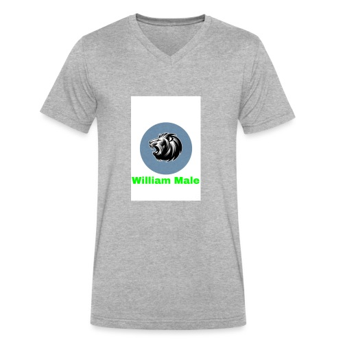 William Male - Men's V-Neck T-Shirt by Canvas