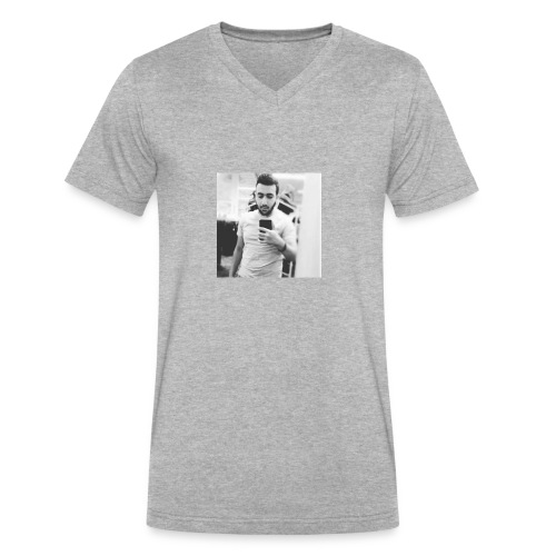 Ahmad Roza - Men's V-Neck T-Shirt by Canvas