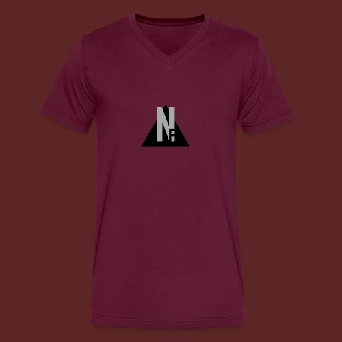 Basic NF Logo - Men's V-Neck T-Shirt by Canvas