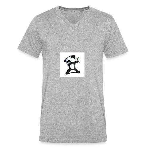Panda DaB - Men's V-Neck T-Shirt by Canvas