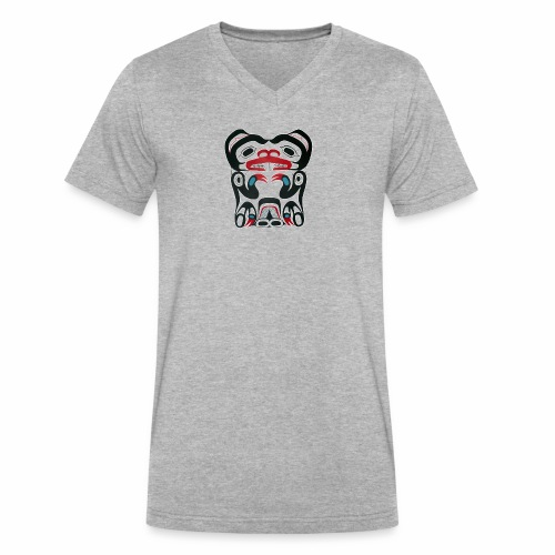 Eager Beaver - Men's V-Neck T-Shirt by Canvas