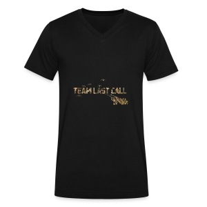 Team Last Call official Logo - Men's V-Neck T-Shirt by Canvas