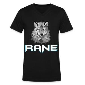 RaNe Logo - Men's V-Neck T-Shirt by Canvas