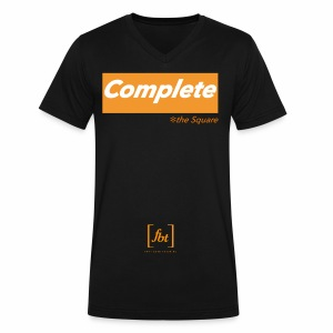 Complete the Square [fbt] - Men's V-Neck T-Shirt by Canvas