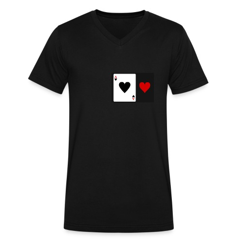 www.\ToPlay - Men's V-Neck T-Shirt by Canvas