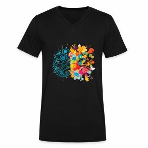 Explosive - Men's V-Neck T-Shirt by Canvas