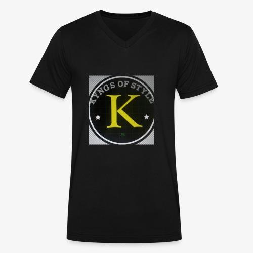 kfs - Men's V-Neck T-Shirt by Canvas