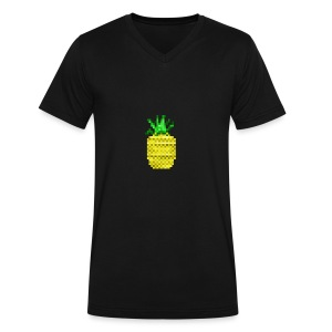 Apple of Pine - Men's V-Neck T-Shirt by Canvas